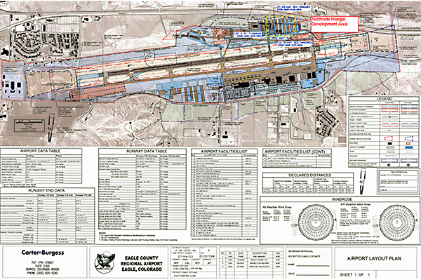 Vail HangAir Site Plan